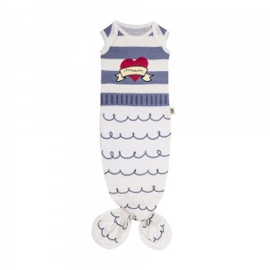 Śpioszki Baby Gown Sailor (0-3 m) Blue