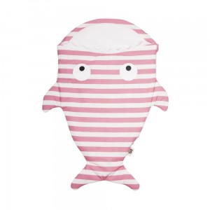 Baby Bites Śpiworek light Shark (0-3 m) Sailor  pink